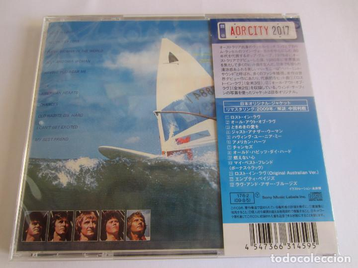 CDs de Música: AIR SUPPLY - LOTE 2 (LOST IN LOVE + THE ONE THAT YOU LOVE) 2017 JAPAN CD - Foto 4 - 121854635