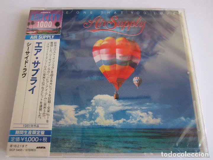 CDs de Música: AIR SUPPLY - LOTE 2 (LOST IN LOVE + THE ONE THAT YOU LOVE) 2017 JAPAN CD - Foto 5 - 121854635