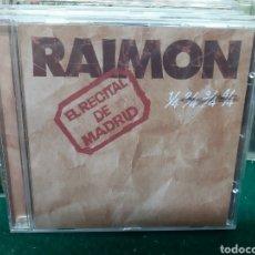 CDs de Música: CD MÚSICA RAIMON-EL RECITAL DE MADRID 22 CANCIONES. Lote 260553150
