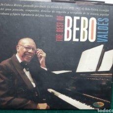CDs de Música: BEBO VALDES THE BEST OF- DOBLE CD , DESCATALOGADO. Lote 260561855
