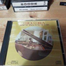 CDs de Música: CHICK COREA - NOW HE SINGS, NOW HE SOBS - BLUE NOTE CAPITOL 1995 - MIROSLAV VITOUS - ROY HAYNES. Lote 260591875