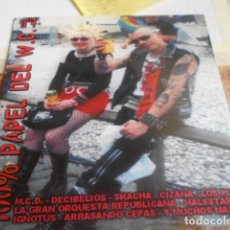CDs de Música: RCOPILATORIO 26 GRUPOS ESPAÑOLES HARDCORE-PUNK OIL-100% PAPEL DEL WATER. Lote 260655760