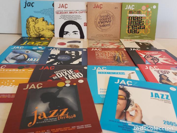 JAÇZ / JAZZ / CONJUNTO DE 18 PROMO CDS DISTINTOS / IMPECABLES / EN TOTAL 217 TEMAS / OCASIÓN !! (Música - CD's Jazz, Blues, Soul y Gospel)