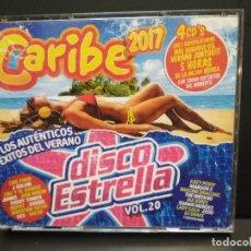 CDs de Música: CARIBE 2017 / DISCO ESTRELLA VOL. 20 - 4 X CDS LOS AUTENTICOS PEPETO. Lote 260734690