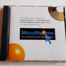 CDs de Música: CD-ROM MICROBISOME. Lote 260743080