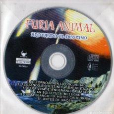 CDs de Música: FURIA ANIMAL – AZOTANDO EL DESTINO. Lote 260806815