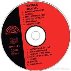 CDs de Música: REVENGE – ARCHIVES. Lote 260808115