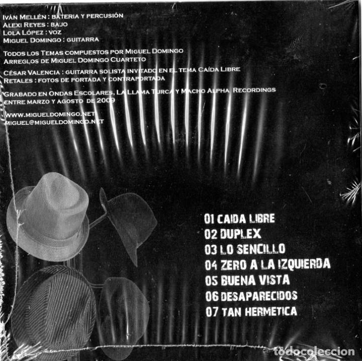CDs de Música: MD CUARTETO - CAIDA LIBRE - Foto 2 - 260816730
