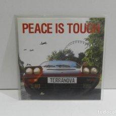 CD di Musica: DISCO CD. TERRANOVA – PEACE IS TOUGH. COMPACT DISC. PROMOCIONAL.. Lote 260848975