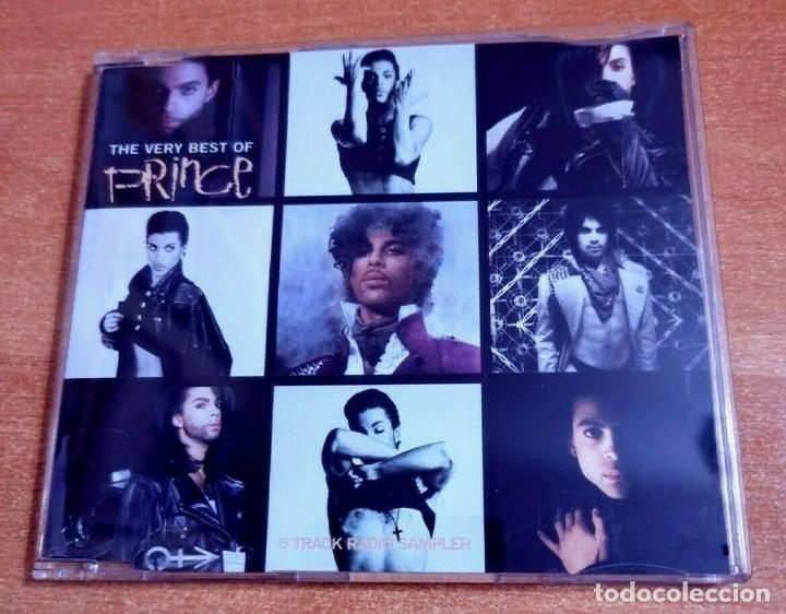 PRINCE PURPLE RAIN CD MAXI SINGLE PROMO DEL AÑO 2001 ALEMANIA PLASTICO CONTIENE 6 TEMAS (Música - CD's Jazz, Blues, Soul y Gospel)