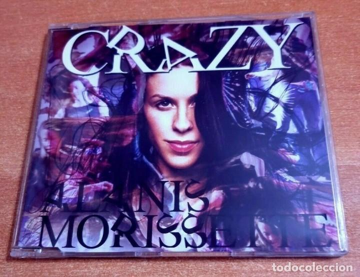 ALANIS MORISSETTE CRAZY REMIXES CD SINGLE PROMO DEL AÑO 2005 ALEMANIA PLASTICO CONTIENE 2 TEMAS (Música - CD's Pop)