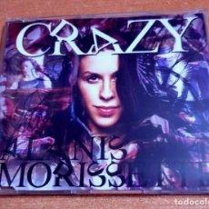 CDs de Música: ALANIS MORISSETTE CRAZY REMIXES CD SINGLE PROMO DEL AÑO 2005 ALEMANIA PLASTICO CONTIENE 2 TEMAS. Lote 261118390