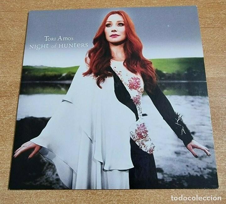 TORI AMOS NIGHT OF HUNTERS CD ALBUM PROMO DEL AÑO 2011 EU PORTADA DE CARTON CONTIENE 14 TEMAS (Música - CD's Pop)