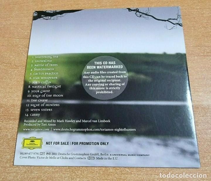 CDs de Música: TORI AMOS Night of hunters CD ALBUM PROMO DEL AÑO 2011 EU PORTADA DE CARTON CONTIENE 14 TEMAS - Foto 2 - 261119380