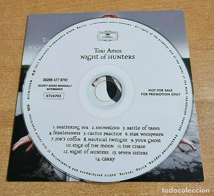 CDs de Música: TORI AMOS Night of hunters CD ALBUM PROMO DEL AÑO 2011 EU PORTADA DE CARTON CONTIENE 14 TEMAS - Foto 3 - 261119380