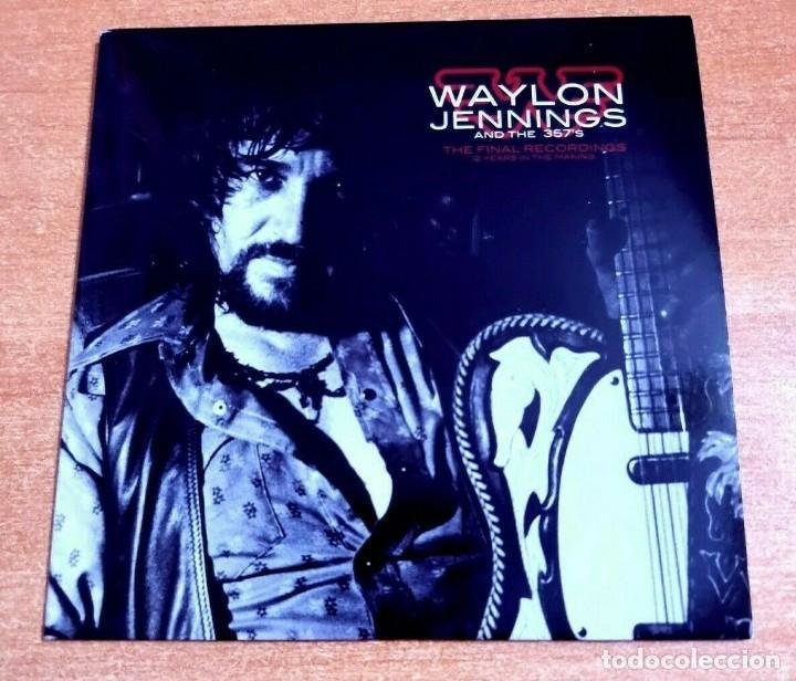 WAYLON JENNINGS & THE 357'S WAYLON FOREVER CD ALBUM PROMO 2009 EU CARTON CONTIENE 8 TEMAS (Música - CD's Jazz, Blues, Soul y Gospel)