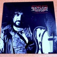 CDs de Música: WAYLON JENNINGS & THE 357'S WAYLON FOREVER CD ALBUM PROMO 2009 EU CARTON CONTIENE 8 TEMAS. Lote 261120225