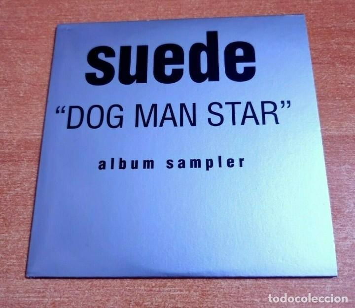 SUEDE DOG MAN STAR CD ALBUM PROMO 1994 EU PORTADA DE CARTON CONTIENE 12 TEMAS (Música - CD's Pop)