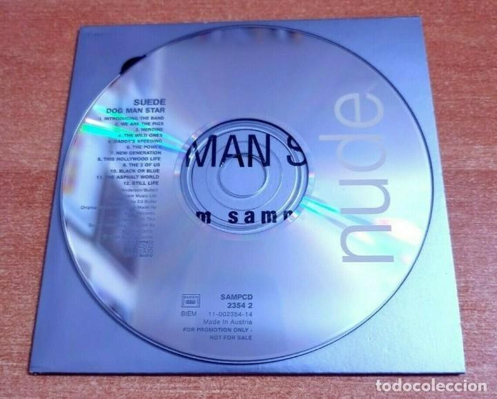 CDs de Música: SUEDE Dog man star CD ALBUM PROMO 1994 EU PORTADA DE CARTON CONTIENE 12 TEMAS - Foto 3 - 261121090