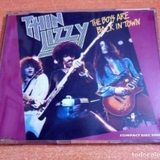 CDs de Música: THIN LIZZY THE BOYS ARE BACK IN TOWN CD SINGLE PROMO 1991 ALEMANIA PHIL LYNOTT CONTIENE 4 TEMAS. Lote 261121885