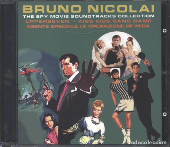 THE SPY MOVIE COLLECTION: UPPERSEVEN, KISS KISS, AGENTE SPECIALE LK / BRUNO NICOLAI CD BSO - JAPAN (Música - CD's Bandas Sonoras)