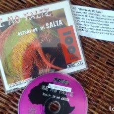 CDs de Música: CD-MAXI (5 TEMAS) DE KE NO FALTE ( EDICION LIMITADA Y NUMERADA 227). Lote 261156750