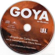 CDs de Música: ROQUE BAÑOS - GOYA EN BURDEOS. Lote 261162525