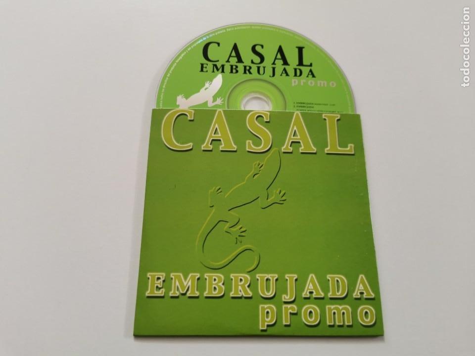TINO CASAL EMBRUJADA CD SINGLE PROMOCIONAL CARTON AÑO 2000 3 TEMAS REMIX PUMPIN´ DOLLS (Música - CD's Pop)