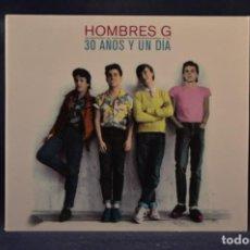 CDs de Música: HOMBRES G - 30 AÑOS Y UN DÍA - 3 CD + DVD. Lote 261204665