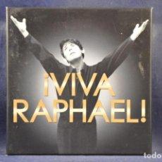 CDs de Música: RARHAEL - ¡VIVA RAPHAEL! - 3 CD + DVD. Lote 261205175