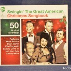 CDs de Música: VARIOUS - SWINGIN' THE GREAT AMERICAN - 2 CD. Lote 261206850