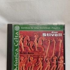 CDs de Música: CD ALAN STIVEL, BRIAN BORU. MÚSICA CELTA SONIDOS DE UNA IDENTIDAD MÁGICA. Lote 261212790