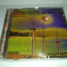 CDs de Música: JUAN CARLOS IRIZAR AMETSEN ARTEAN ENTRE SUEÑOS/ (CD NUEVO PRECINTADO). Lote 261212880