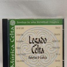 CDs de Música: CD LEGADO CELTA. VARIOS AUTORES . MÚSICA CELTA SONIDOS DE UNA IDENTIDAD MÁGICA. Lote 261213455