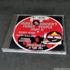 CDs de Música: JAMES BROWN'S FUNKY PEOPLE (PART 2) - CD - 1988 - II - MACEO HANK BALLARD MARVA WHITNEY - BROWN. Lote 261216240