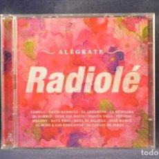 CDs de Música: VARIOUS / RADIOLÉ - ALÉGRATE - 2 CD. Lote 261236635