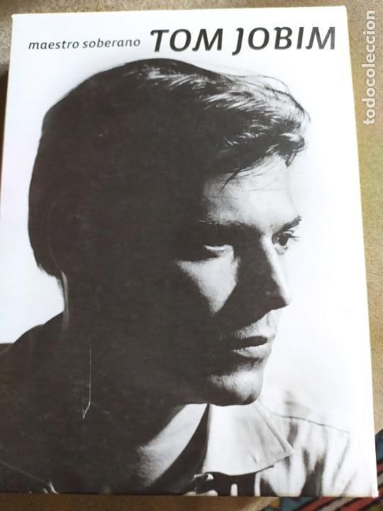 TOM JOBIM.- 3LIBROS+ DVD (Música - CD's World Music)