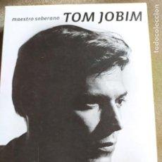 CDs de Música: TOM JOBIM.- 3LIBROS+ DVD. Lote 261240500