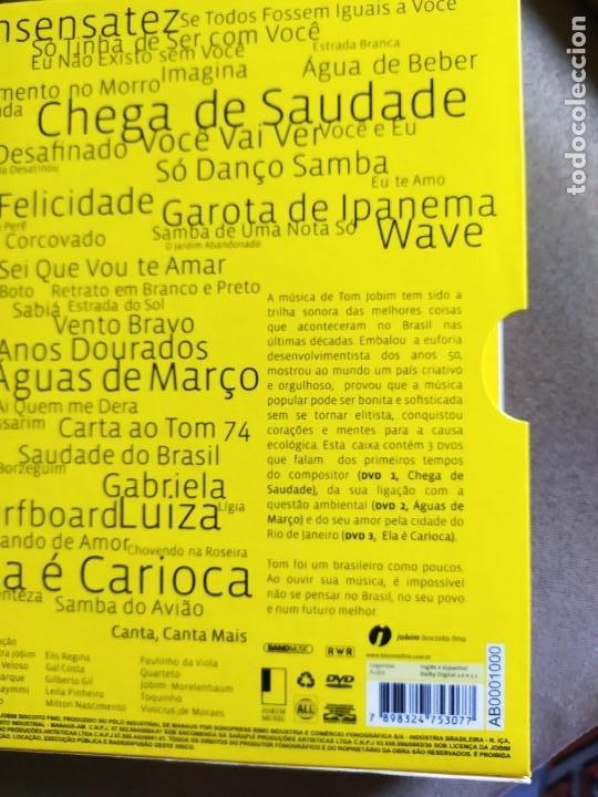 CDs de Música: TOM JOBIM.- 3LIBROS+ dvd - Foto 2 - 261240500