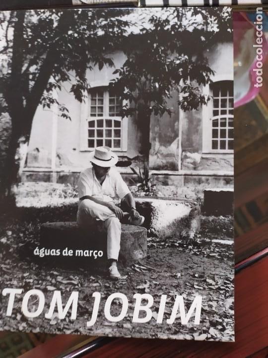 CDs de Música: TOM JOBIM.- 3LIBROS+ dvd - Foto 3 - 261240500