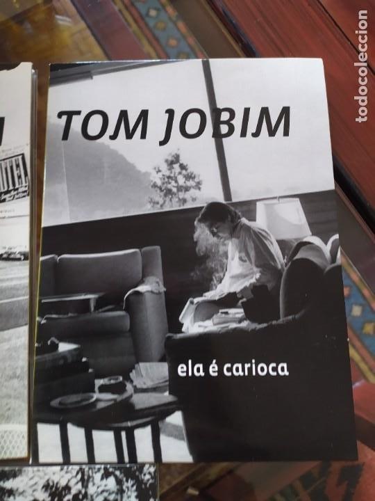 CDs de Música: TOM JOBIM.- 3LIBROS+ dvd - Foto 4 - 261240500