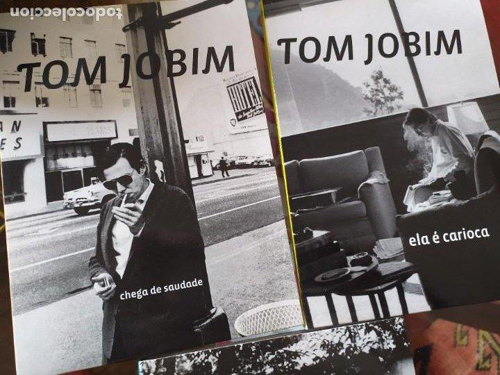 CDs de Música: TOM JOBIM.- 3LIBROS+ dvd - Foto 5 - 261240500