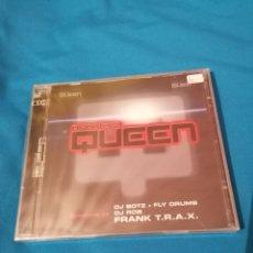 CDs de Música: DISCOTECA QUEEN 2CD FRANK T.R.A.X. PRECINTADO. Lote 261258525