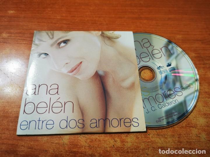 ANA BELEN ENTRE DOS AMORES CD SINGLE COMERCIAL CON PORTADA DE CARTON JUAN CARLOS CALDERON (Música - CD's Pop)