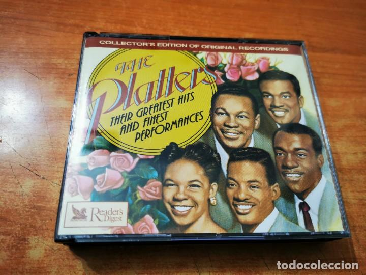 THE PLATTERS THEIR GREATEST HITS AND FINEST PERFORMANCES 3 CD ALBUM DEL AÑO 1994 READER'S DIGEST BOX (Música - CD's Jazz, Blues, Soul y Gospel)
