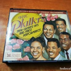 CDs de Música: THE PLATTERS THEIR GREATEST HITS AND FINEST PERFORMANCES 3 CD ALBUM DEL AÑO 1994 READER'S DIGEST BOX. Lote 261268320