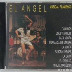 CDs de Música: CD 1993 - EL ANGEL MUSICAL FLAMENCO / CAMARÓN - LOLE Y MANUEL - FERNANDA DE UTRERA - EL CAPULLO ETC. Lote 261301550