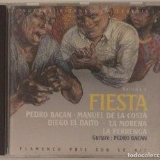 CDs de Música: CD 1991 - NOCHES GITANAS EN LEBRIJA / FIESTA (EDICIÓN FRANCESA). Lote 261301865