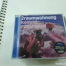 CDs de Música: 2RAUMWOHNUNG - KOMMT ZUSAMMEN - CD - C 6. Lote 261358490