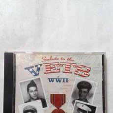 CDs de Música: CD SALUTE TO THE VETS OF WWLL RCA MADE IN USA. Lote 261369360